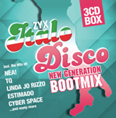ZYX Italo Disco NEW GENERATION BOOTMIX (3CD BOX)